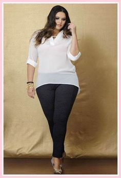 Cute Outfits For Plus Size Women. Graceful Plus Size Fashion Outfit Dresses for Everyday Ideas And Inspiration. Plus Size Refashion. Look Plus Size, Curvy Plus Size, Plus Size Girls, Plus Size Women, Xl Mode, Mode Plus, White Jeans Plus Size, Plus Size Dresses, Plus Size Outfits