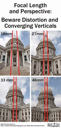 Photographing Architecture: watch your lines | Boost Your PhotographyFocal length and perspective - beware distortion and converging verticals