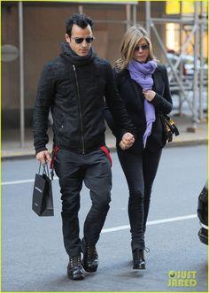 Jennifer Aniston & Justin Theroux 2011