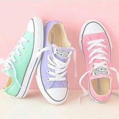 I want pastel converse!