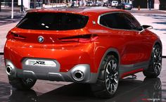 BMW Concept X2 Previews New SUV