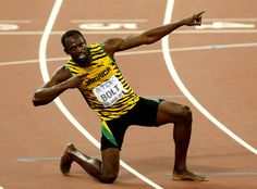 Le Jamaïcain Usain Bolt a dominé l'Américain Justin Gatlin Usain Bolt, Justin Gatlin, Beijing, Sean Paul, Vs The World, Fastest Man, Sports Figures, Extreme Sports, Track And Field