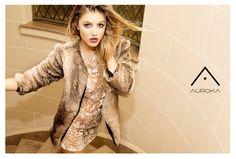 Auroka Fall Winter 15  Model Stephanie Demner Sty Nico Pesce Freijo
