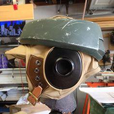 Yay Monsters Endor Rebel Trooper Helmet! #props #endor #starwars #borntorebel #rebellegion #rebels