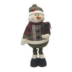 クリスマス足ながBigドール スノーマン