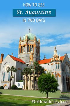 See all of St. Augustine in 2 days aboard the Old Town Trolley! Historical Landmarks, Tourist Attractions, Beaches, and more. Historical Landmarks, Historical Sites, Florida Oranges, Palm Coast, Rv Travel, Road Trip Usa, Weekend Getaways, Old Town, Things To Do