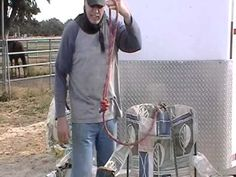 How to Tie a Horse Cavalry Knot - Uses for Cavalry Knot - Rick Gore Horsemanship - YouTube