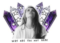 """""""why?"""" by candetf ❤ liked on Polyvore"""