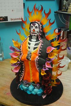 Day of the Dead Guadalupe by The Bleeding Heart Bakery, via Flickr