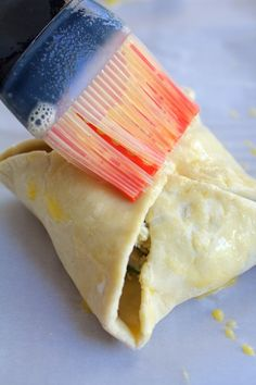 Chicken Spinach and Artichoke Puff Pastry Parcels are elegant and perfect for any spring occasion! Made with frozen puff pastry for ultimate ease! Fish Recipes, Appetizer Recipes, Whole Food Recipes, Cooking Recipes, Appetizers, Savoury Pastry Recipe, Puff Pastry Recipes, Cake Ingredients