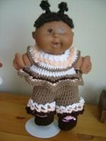"""Jane's Delight - 15"""" CPK baby - Free Original Patterns - Crochetville Going to make this for build a bear"""