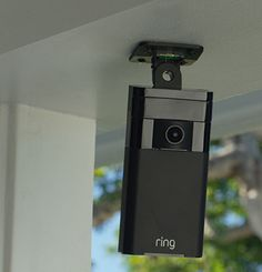 Your Ring of Security When used together with Ring Video Doorbell, Stick Up Cam provides a full ring of security around your home. This self-install security system enables you to monitor and interact