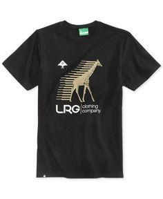 Lrg Men's Swift Graphic-Print Logo Cotton T-Shirt
