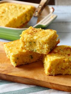 The best super-moist jalapeno buttermilk cornbread recipe. You'd almost think there was pudding in the recipe.
