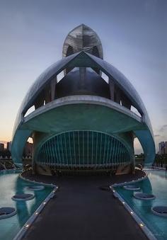 #Spanish #Architecture Simetria en el Palacio de las Artes Reina Sofía Valencia Spain