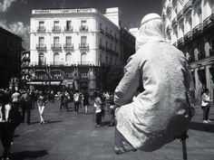 """Día 173: """"#levitando en #Madrid"""" #Proyecto365 días, solo fotos con #Iphone6plus www.miguelonievafotografo.com"""