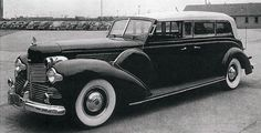 """President Theodore Roosevelt: The nickname for this limousine was the """"Sunshine Special"""" because the top was open for security reasons. Security was needed after someone attempted to assassinate Franklin Roosevelt in 1933. It was also convenient for Roosevelt's wheelchair."""