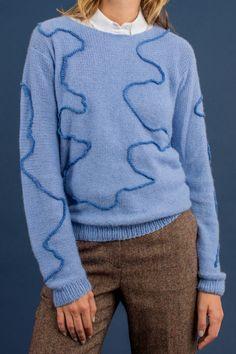 Kostenlose Anleitung: Sweater mit Bordüre - Initiative Handarbeit