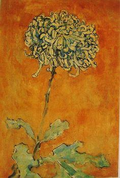 tourettesyndrome:  Chrysanthemum, Piet Mondrian