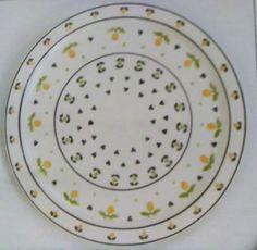 Piatto Portata Rotondo in ceramica Kergrès  - Wald - iMPRONTE VERDE