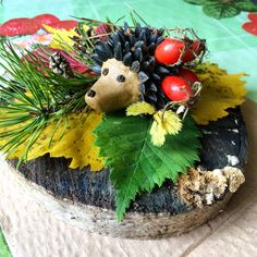 Autumn Crafts, Autumn Art, Nocturnal Animals, Fall Decor, Art For Kids, Diy And Crafts, Carving, Seasons, Fruit