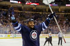 Dustin Byfuglien has signed a five-year, $38 million extension with the Winnipeg Jets. The deal carries an annual average value of $7.6 million.