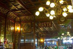La ruleta del Caffè Mulassano, uno de los cafés históricos de Turín