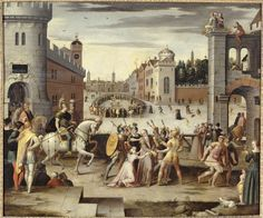 Arrest and execution of Thomas More .... Caron Antoine (1521-1599)