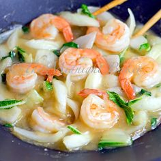 This is a great looking meal. Shrimp with Bok Choi - You can serve it too! From The Midnight Baker