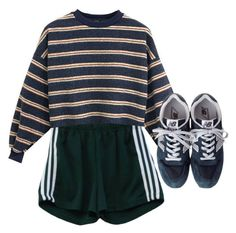 """""""Dull"""" by headshapes ❤ liked on Polyvore featuring New Balance"""