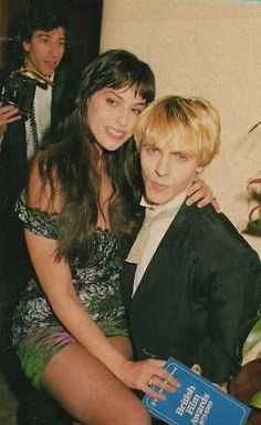 Julie Anne and Nick Rhodes during