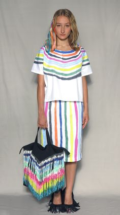 no17-painted-collar-top-white-multi no38-painted-strikes-skirt-white-multi no53-painted-fringes-bag-black-multi starstyling-ss13-doodle