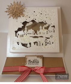 Crafter's Companion Create a Card Die Christmas Village