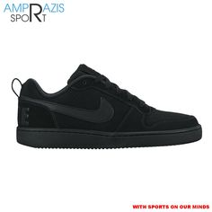 Nike Court Borough Low (Black)