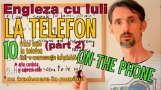 Sa invatam Engleza - LA TELEFON/ON THE PHONE (part 2) Let's learn Englis... Learn English, Let It Be, Facebook, Learning, Phone, Conversation, Youtube, Instagram, Patterns