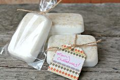 A wonderful Christmas gift idea!  How to Make Homemade Soap - The Easy Way!