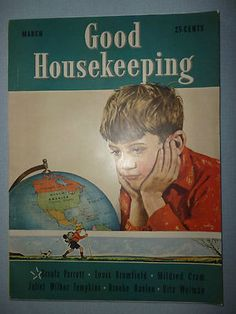 March 1939 Good Housekeeping Horrace Gaffron Cover