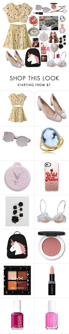 """we used to text a lot"" by ivyfanfic ❤ liked on Polyvore featuring Del Gatto, Monsoon, Casetify, ASOS, Nina Ricci, Forever 21, Smashbox and Essie"