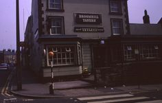 The Broomhill Tavern, on Glossop Road and Peel Street, The Broomhill Study, Sheffield, May Sheffield Pubs, 1970s, England, Street, Places, Study, Yorkshire, History, Studio