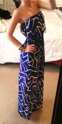 The Villa Alphie - Navy Maxi