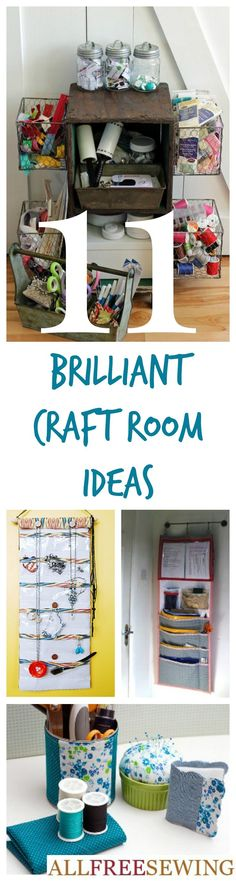 11 Sewing Room Ideas: How to Organize Your Room | AllFreeSewing.com