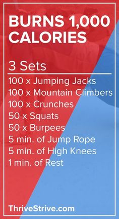 Want to burn 1,000 calories at home? This at-home workout will help you burn 1,000 calories without the use of any gym equipment. Lose weight, burn calories, and watch TV.