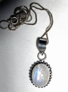 PENDANT  MOONSTONE  Sterling Silver Over Copper  by MOONCHILD111, $15.95  https://www.etsy.com/shop/MOONCHILD111