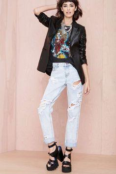 Destruction Jeans