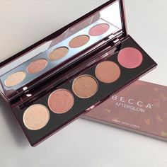 BECCA Afterglow Shimmering Skin Perfector Palette- Highlighter/Blush BNIB