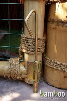 Bamboo Gate Examples of Bamboo Rope Joints