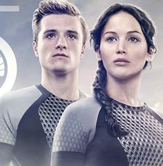 Featuring the winners of the Hunger Games, Katniss Everdeen and Peeta Mellark. The banner gives away that the Hunger Games will be a Quarter Quell and introduces a new hashtag, Both Jennifer Lawrence and Josh Hutcherson are decked in their Arena costumes. New Hunger Games, Hunger Games Catching Fire, Hunger Games Trilogy, Divergent Trilogy, Katniss And Peeta, Katniss Everdeen, Saga, Tribute Von Panem, Quarter Quell