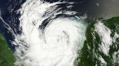 ICYMI: VIDEO: La NASA publica imágenes satelitales del huracán Nate en el golfo de México