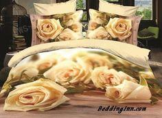 #rose #3d #duvetcoverset Fabulous Blooming Roses Print 3D Duvet Cover Sets  Buy link->http://goo.gl/JqzfHe Live a better life, start with @beddinginn