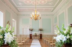 BIJOU WEDDINGS – Botleys Mansion's glorious ceremony room